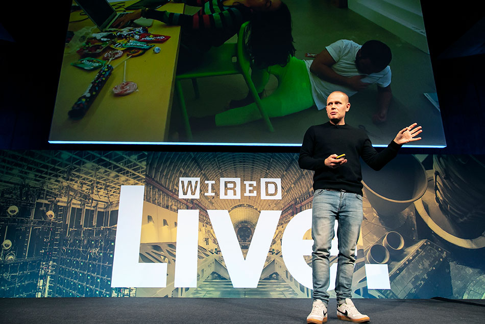 Cristian Norlin, Ericsson at WIRED Live 2018