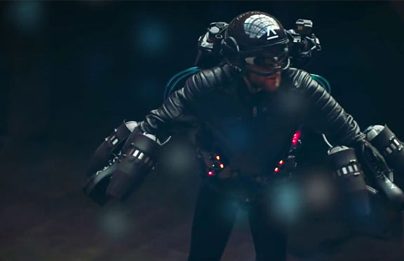 Richard Browning is a Real-life Iron Man - with His Own Flying Suit