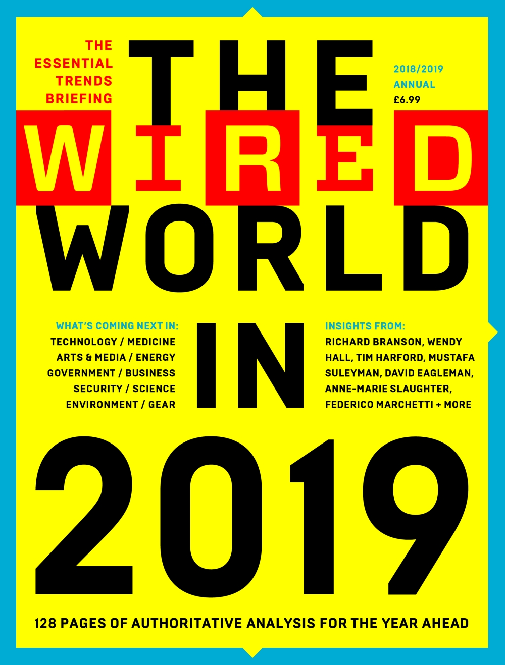 The WIRED World in 2018.